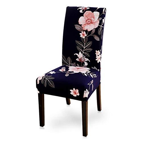 1/2/4/6 stks Stoel Cover Elastische Seat Xmas Stoelbekleding Xmas Stretch Hoge Rug Kussenovertrekken Voor Hotel Banket Party, O, CHINA