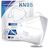 Hotodeal KN95 Mask Safety Mask Breathable Mask (20 pcs)