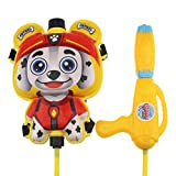 Tipmant Kids Water Blaster Squirt Gun Soaker with Cartoon Backpack Water Tank for Swimming Pool Beach Summer Water Fighting Toys (Cartoon 1)