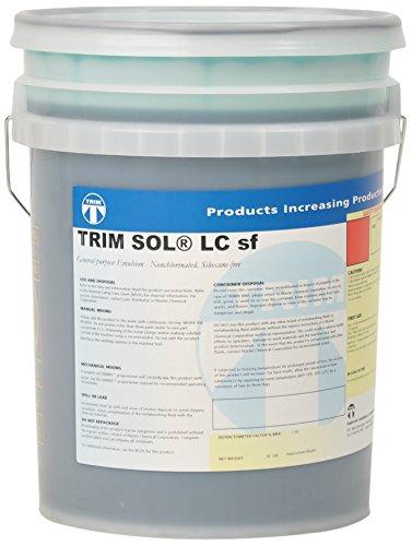 TRIM Cutting & Grinding Fluids SOLLCSF/5 General Purpose Emulsion, Nonchlorinated, Siloxane Free, 5 gal Pail