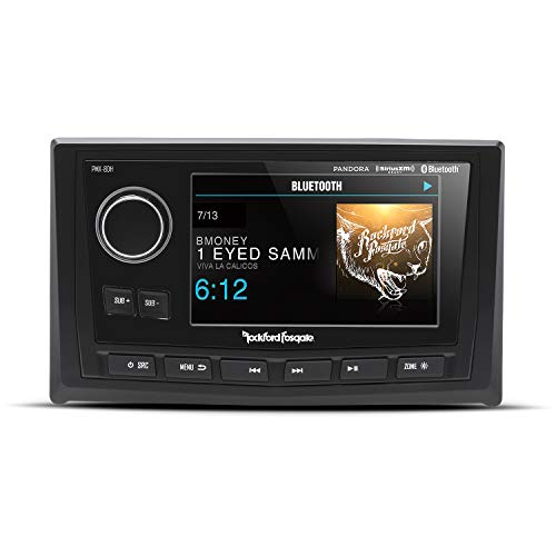 "Rockford Fosgate PMX-8DH Punch Marine Full Function Wired 5"" TFT Display Head"