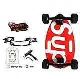 Mini Longboard Cruiser Skateboards-Kleines Skateboard für Erwachsene und Kinder