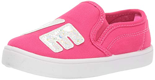 Carter's Girl's Tween10 Slip-On Shoe, Pink, 9 M US Toddler