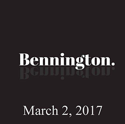 Bennington, March 02, 2017 audiobook cover art