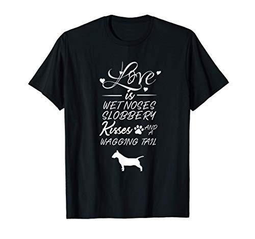 Grifón de Bruselas Love My Dog Quotes para las mujeres Camiseta