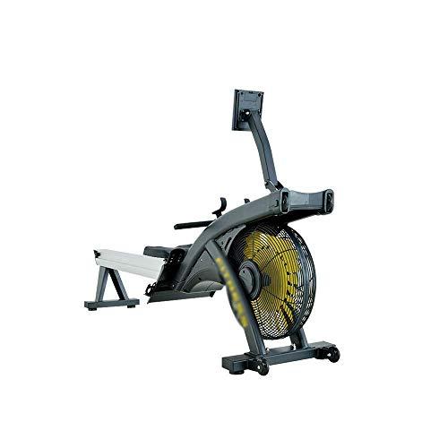 XBSLJ Rudergeräte klappbar Rudergerät für den Heimgebrauch Faltbare stille Magnetsteuerung, männliches und weibliches Gewichtsverlust-Muskeltraining Wasser-Rudergerät, Aerobic-Fitnessgeräte