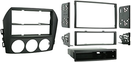 Price comparison product image Metra 99-7506 Single DIN / Double DIN Installation Kit for 2006-2008 Mazda Miata MX-5 Vehicles (Black)