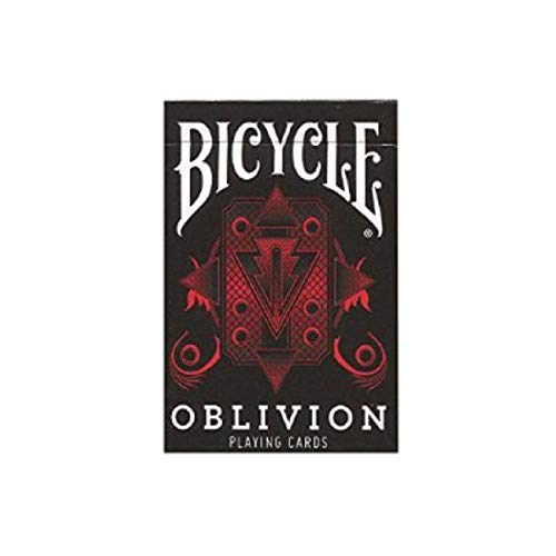 Bicycle Oblivion Deck (Red) (Limited Edition 1st Run Gold Seal) by Collectable Playing Cards