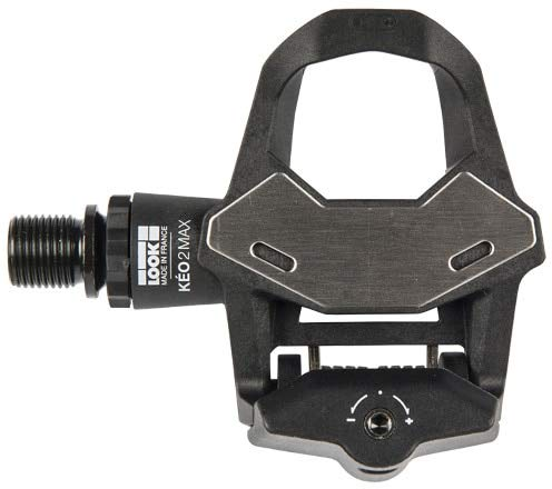 LOOK Cycle - KEO 2 Max Normal Bike Pedale - 500mm² große Kontaktfläche - volle Kraftübertragung - ultraleichte Pedale, Normal Körper - einstellbare Spannung
