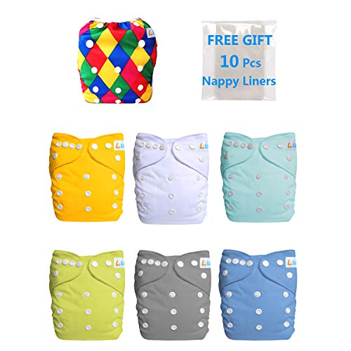 LBB Swim Dipaer and Cloth Diaper Cover and Inserts Set