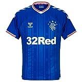 Hummel Glasgow Rangers - Camiseta de fútbol 2019-2020, 19_20, Hombre, color azul real., tamaño XL