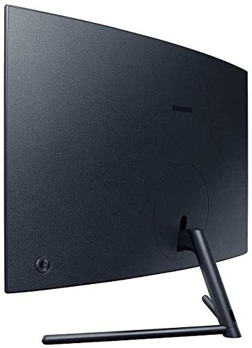 Samsung U32R592CWU 80,1 cm (32 Zoll) Curved UHD 4K Monitor (3.840 x 2.160 Pixel, VA-Panel, 16:9 Format, 60 Hz, 4ms, Dual Monitor geeignet, PC Monitor, Gaming) dunkelblaugrau