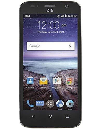 "ZTE Maven 1st Gen Z812 | (8GB, 1GB RAM) | 4.5"" Full HD Display | 5MP Rear Camera | 2100 mAh Battery | 4G LTE | GSM Unlocked | Android 5.1 Lollipop Smartphone (Black)"