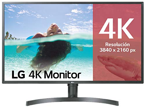LG 32UK550-B - Monitor 4K UHD de 80 cm (31,5') con panel VA (3840 x 2160 píxeles, 16:9, 300 cd/m², DCI-P3 95%, 3000:1, 4...