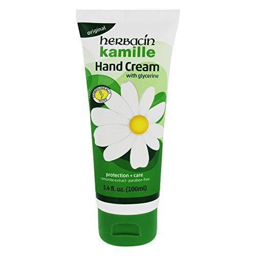 Herbacin Kamille Hand Cream, 3.4 Ounce, 3 Pack