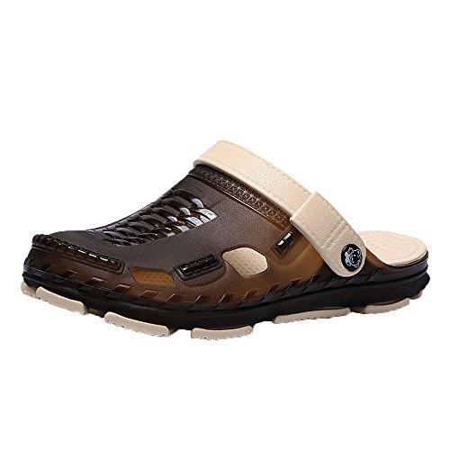 Yvelands Zapatos Mujer Zapatos Planos para Mujer Sandalias de Cuero Tobillo Casual Zapatillas Suaves