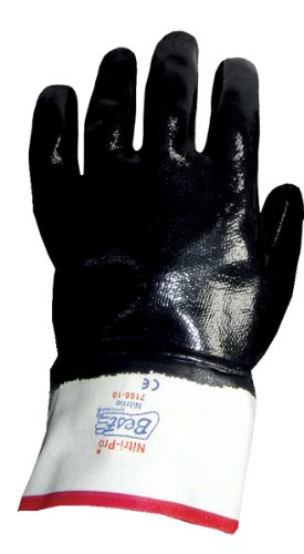 SHOWA 7116 Insulated Fully Coated Nitrile Glove, Cotton Jersey with Foam Insulation, Reinforced Safety Cuff, General Purpose Work, X-Large (Pack of 12 Pairs)