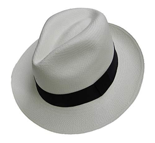 Equal Earth Nuevo Sombrero Panamá genuino plegable auténtico y comercio justo -...