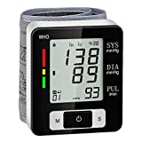 Blood Pressure Monitors Automatic & Accurate Adjustable Digital Automatic BP Voice Broadcast & Largest LCD Display 2X60 Sets Memory Dual Users Mode Irregular Heartbeat Detector