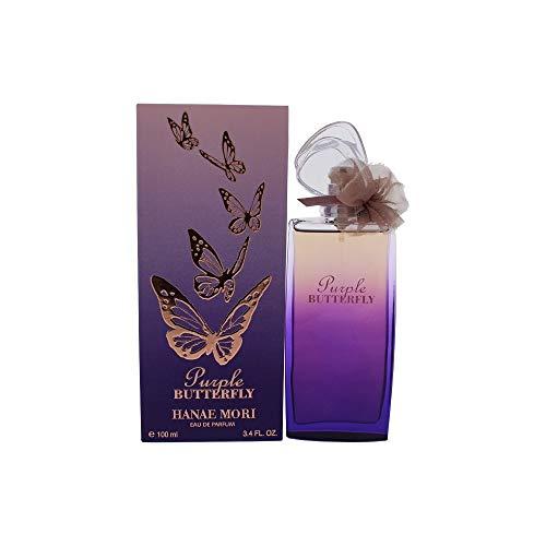 Hanae Mori Butterfly Puple Eau De Perfume Spray - 100 Ml