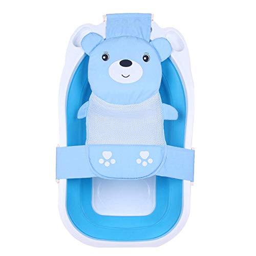 Brücke für Baby-Badewanne hellblau,Stütznetz Halterung für Badewanne, Netz Badesitz für Baby-Badewanne, für Neugeborene und Babys. von Omaker