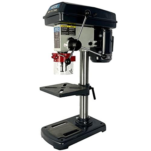 EchoENG -MA TC C16A - Taladro de columna profesional orientable e inclinable de alta precisión con capacidad de 16 mm, velocidad ajustable de 230 V