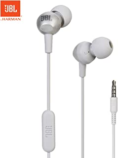 JBL C200SI In-ear Headphones 3.5mm Wired Stereo Music Headset Sports Earphone In-line Control with Mic Smart Phone Gaming Earbuds