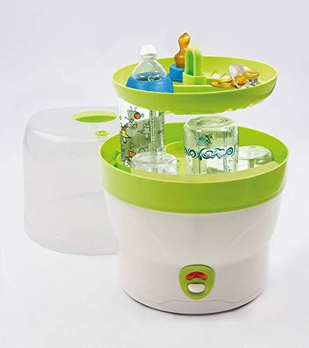 H+H BS 29g Babyflaschen-Sterilisator für 6 Flaschen in grün - 2