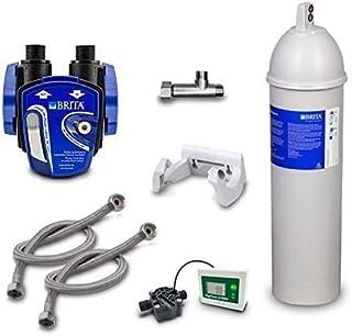 Filtre à eau sous le sol Brita Purity C 500 Quell ST avec tête de filtre et tuyau Brita ainsi que support mural et adaptat...