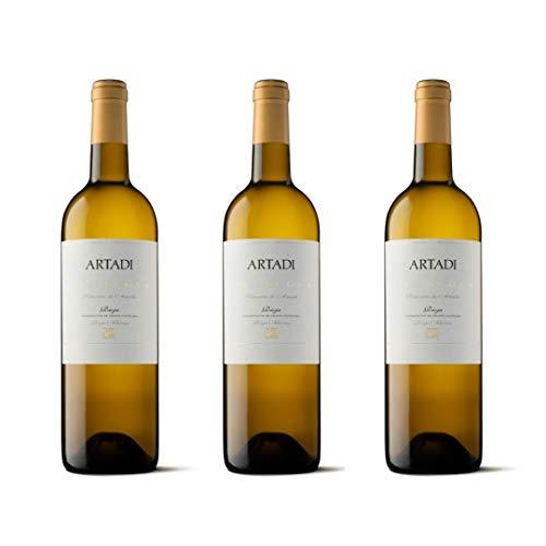 Artadi Viñas de Gain Vino blanco - 3 botellas x 750ml - total: 2250 ml