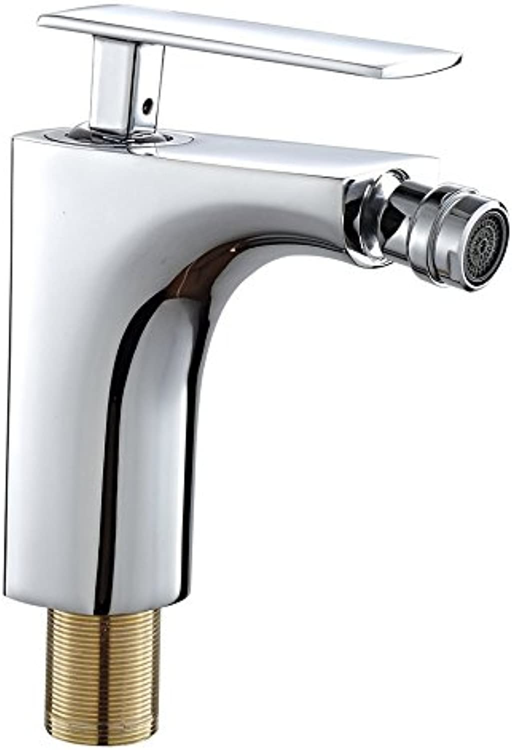 DP Bath Nogal – Single lever bidet mixer tap, silver