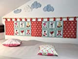 Wandschutz für das Kinderbett Gross (Flamingo)