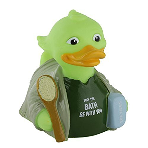 CelebriDucks Spa Wars - Premium Bath Toy Collectible - Action Movie Themed - Perfect Present for Collectors, Celebrity Fans, Music, and Movie Enthusiasts