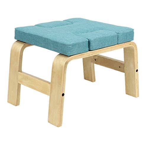 DLT Yoga Headstand Bank – Yoga Inversion Stand stol för hushåll, gym Workout Fitness –...