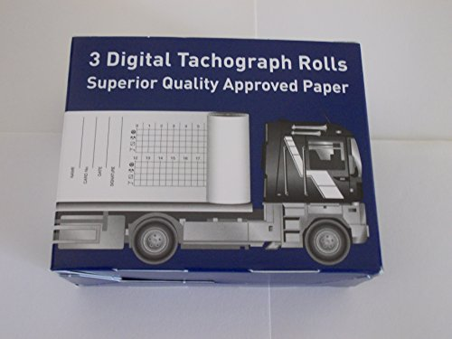 TachoDisc Digital Printer Rolls (Box of 3)