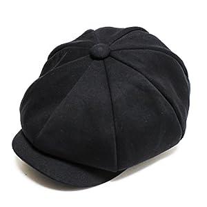 (ルーベン) 【RUBEN】 大きいサイズも選べる SWEAT CASKET スウェット キャスケット 2WAY キャスケット キャスハンチング XL ブラック