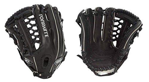 "Louisville Slugger Pro Flare Gloves, Black, 13"", Left Hand Throw"