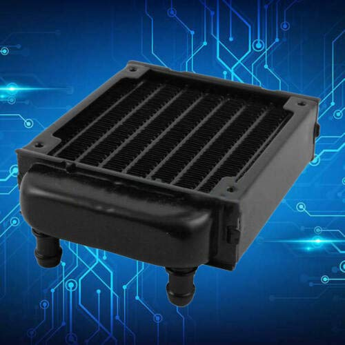 KuierShop(TM) Aluminum Computer Radiator Water Cool Cooler Fan for CPU Heatsink Best Durable