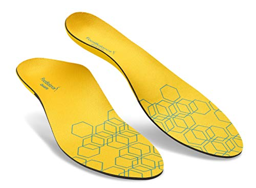 FootBalance QuickFit Balance Narrow Insoles, Heat Moldable Custom Orthotics for Running // Increase Foot Comfort and Relieve Joint Fatigue and Pain (Unisex)