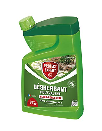 PROTECT EXPERT PROHERBIOB400 Désherbant Polyvalent Ultra Concentre 400 ML, Multicolore