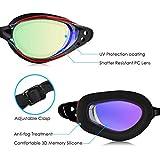 Zoom IMG-1 brotou occhialini da nuoto anti