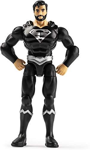 DC Heroes Unite 2020 Black Costume Superman 4-inch Action...