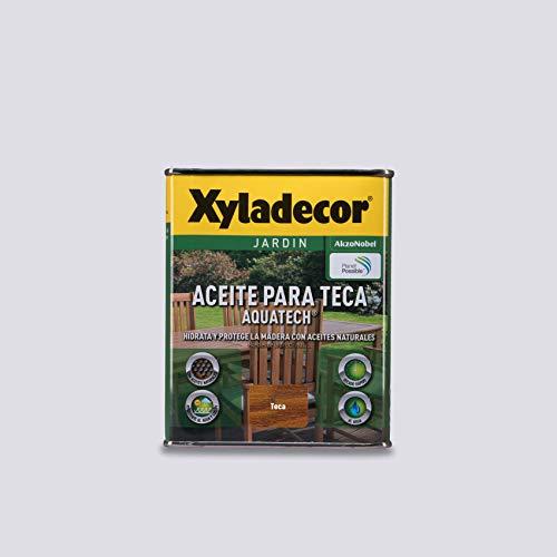 Xyladecor Aceite para Teca Aquatech color Teca 750 ml