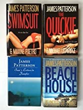 James Patterson Set of 4: Swimsuit; Quickie; Sam's Letters To Jennifer; Beach House