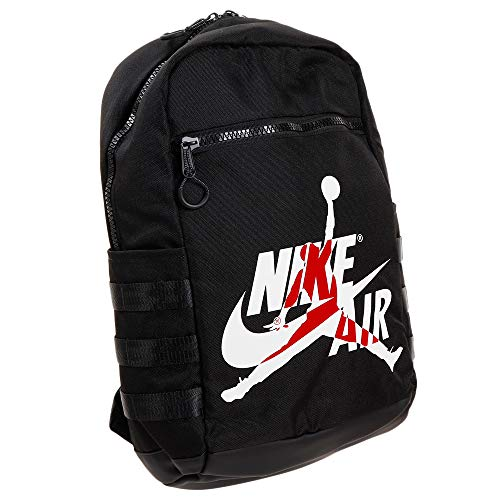 Nike Air Jordan Jumpman Logo Classic Backpack (One Size, Black)