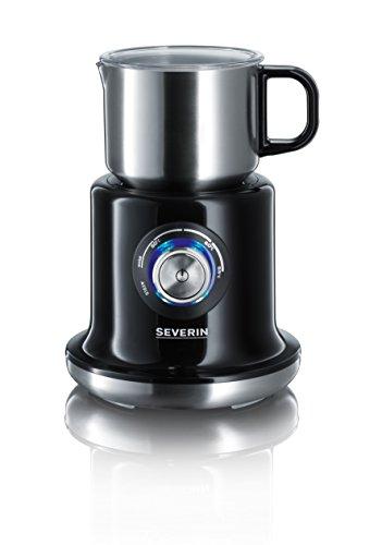 Severin SM 9688 Induktions-Milchaufschäumer mit variabler Temperaturregelung, 500 W, 700 ml, schwarz