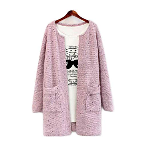 Youngaa 2021 Spring Women Long Sweater Cardigan Knitted Tunic Crochet Ladies Elegant Outwear Autumn Coat for Girls Plus Size