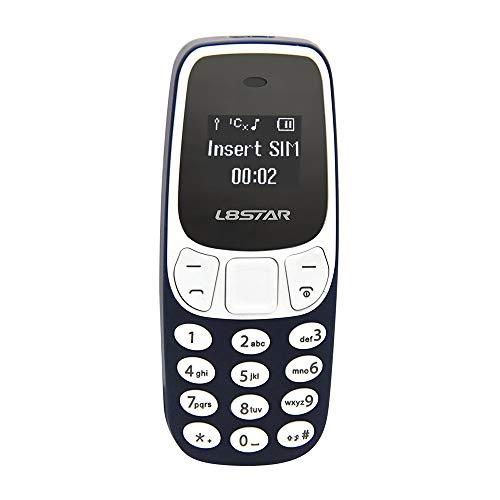 Docooler L8STAR BM10 Mini Business Teléfono GSM con retroiluminación Dialer Wireless BT Teléfono Móvil Música Alarma