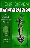Gustav Meyrink als magisch-esoterischer Dichter: Zur Einführung in die Probleme seiner Romane
