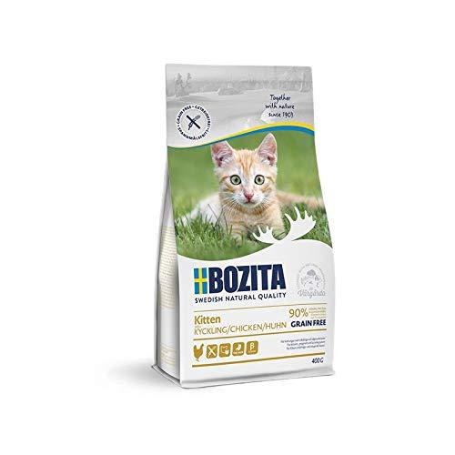 Bozita Kitten Grain Free Chicken | 400g Katzenfutter trocken